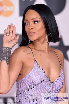 Photos: Rihanna Stuns At BRIT Awards In London